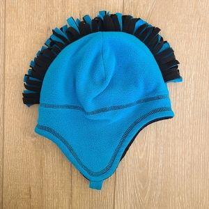 (3/$15) Target Mohawk Blue/Black Hat